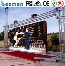 multi-line full color led display p10 Lee man P10 led strip video screen