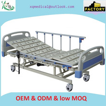 Remote control hospital electric motor bed,patient rest bed