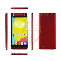 Long standby time battery waterproof smartphone gsm 850/900/1800/1900 mhz red color mobile phone