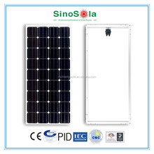 130W Solar Panel with TUV/IEC/CE/CEC Certificates made of A-grade high efficiency crystalline silicon cells
