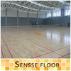 Indoor synthetic basketball court flooring