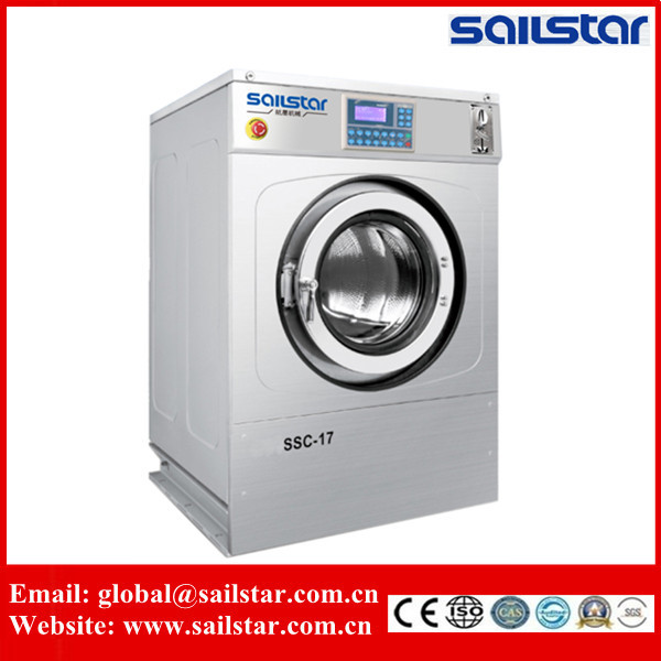 washing machine with coins