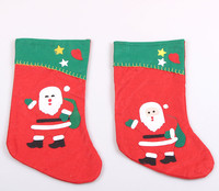 2015 fashion christmas decorations, red christmas stockings/socks for