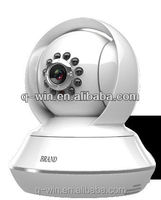 Wireless CCTV CMOS PTZ IP Camera, IR-cut, P2P and Two-way Audio Functions