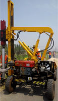 Road construction jack-in piling machine
