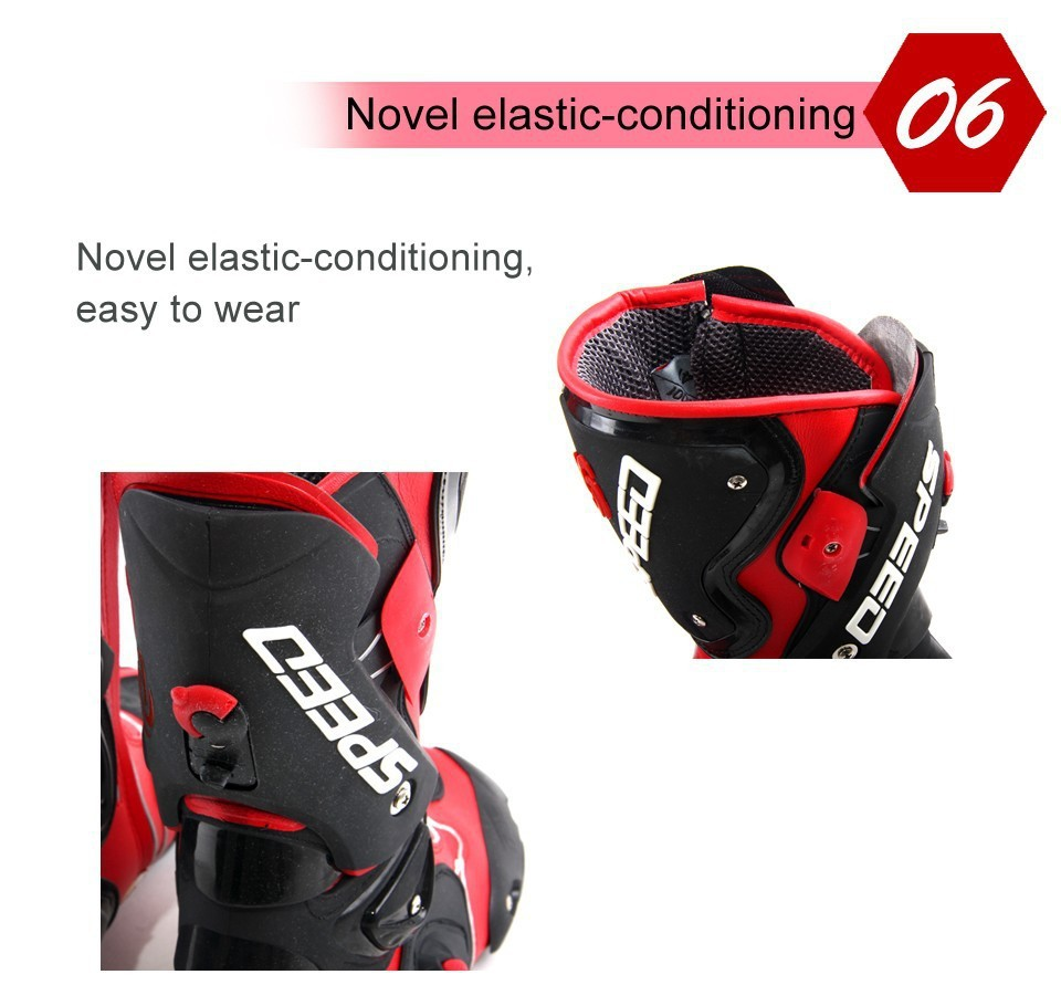 Motorcycle Boots Pro Biker SPEED Bikers Moto Racing Boots Protective