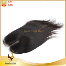 2015 New style Breathable and comfortable brazilian straight silk base lace frontal closure
