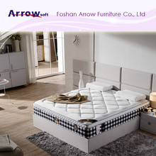 New design pocket spring mattress with memory foam or latex