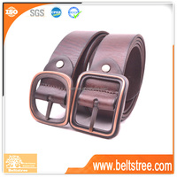 Guangzhou leather belt factory outlet fashion leather men's waist belt