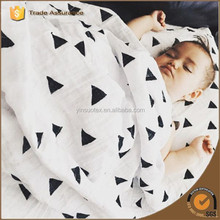 China Alibaba Factory Wholesale Muslin Crochet Baby Blanket