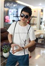 2015 Peijiaxin Fashion Casual Design Bulk Plain White T-shirts