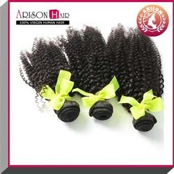 Alibaba express wholesale kinky curl sew in brazilian hair weave, unprocessed 100 virgin human hair