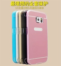 New Luxury Aluminum Metal Bumper Case + Hard Back Cover For Samsung Galaxy S6