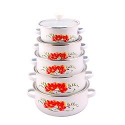 2015 hot sale porcelain enamel cookware