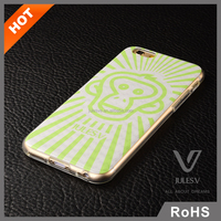 3D Pattern Hybrid Slim Fit Case PC Back Cover Case for iPhone 6 6 Plus
