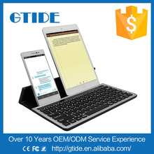 10.1 inch Tablet Keyboard for Android Universal Wireless Keyboard for iPad with Built-in Stand to hold