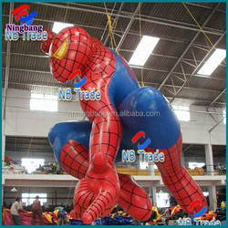 NB-CT1048 Ningbang high quality inflatable spider man cartoon