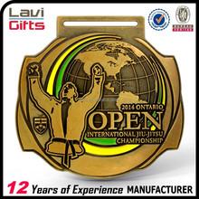Top sell factory price BJJ custom sport medal