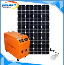 100W Solar Power Or Solar Power System With Solar Power Generator