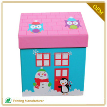 Newest Style House Shape A Packaging Gift Box For Children Gifts