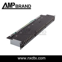 blank patch panel 24port ftp cat.6 or cat.5e