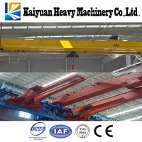 Kaiyuan 2015 new 1t hoist crane with trolley overhead type for Pakistan and Afghanistan