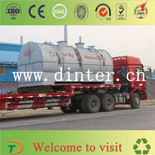Dinter Brand Newest Design High Profit Used Engine Oil Crude Oil Tyre Oil Refinery From Waste Tyre Plastic