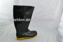 2013 yellow bottom safety boots