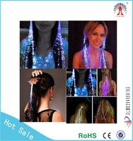 Blinking hair braid led hair clips for party decoration LED lighting hairgrip accessories