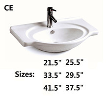Good quality Cabinet basin cabinet sink ceramic basin hand wash basin 823