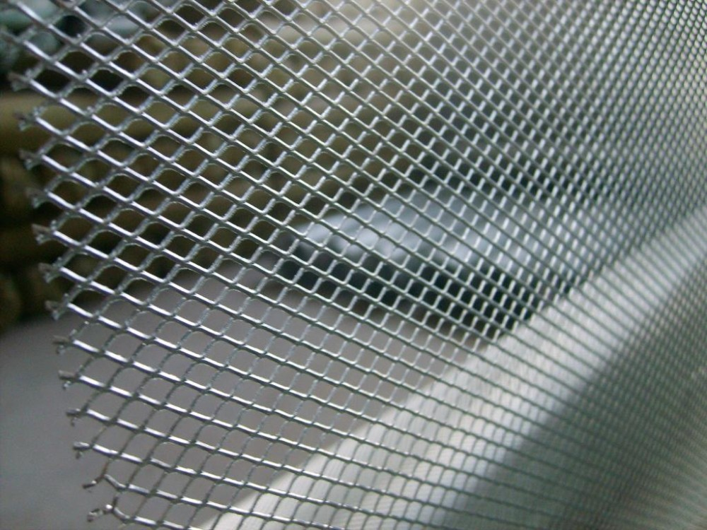 Stainless Steel Hexagonal Pattern Expanded Metal Wire Mesh For Air ...