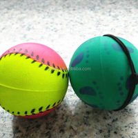 high bouncing red white blue rubber ball wholesale