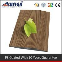 Alusign digital printing wooden aluminium composite panel