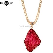 Joyme fashion red gold pendant necklace jewelery