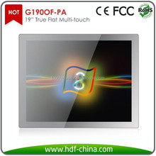 1280*1024 119inch pcap capacitive touch screen monitor / usb multi