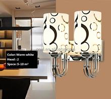 White /warm white headboard read led wall lamp for housing
