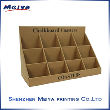 Professional durable counter top display /cardboard counter top pop display/for cards/led/box/gifts /skin care products