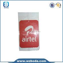 make hanging paper car air freshener in China wholesales