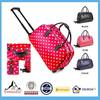 Holdall Trolley Kids Suitcase Wheels Weekend Bag Hand Luggage Travel Bag