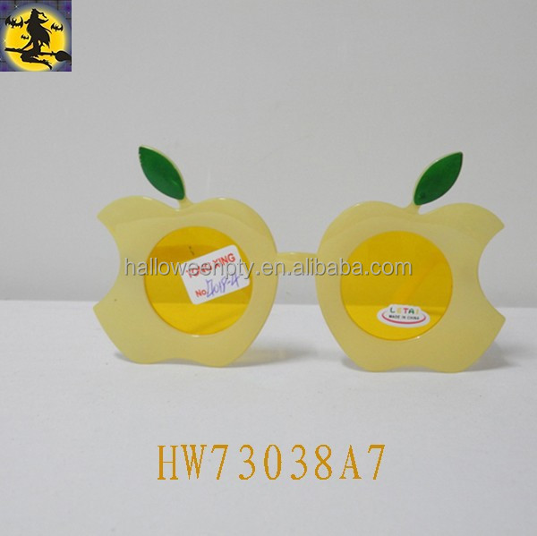 Plastic Apple Design Fashion Party Eye Glasses