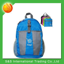 new design waterproof and light-weigh folding hiking backpack