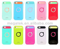 Phone accessories ring stand i glow illuminate tpu case for iphone 5