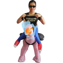 Supply Kids Halloween Carnival Inflatable Ostrich Costume