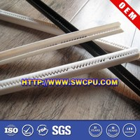 Customized U type plastic channel strips