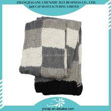 Men warm in winter acrylic knitted long scarf