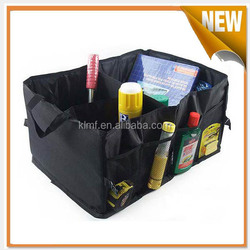 Heavy duty collapsible car boot organizer