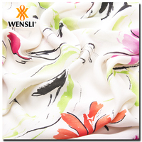Custom Digital Print Fabric For Long Sleeve Bandage Dress