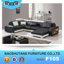top leather import furniture from China foshan dubai leather sofa furniture F105