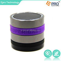 Portable Wireless Bluetooth Speaker with Built-in Mic, Enhanced Bass Resonator, Powerful and High-Def Sound for iPhone