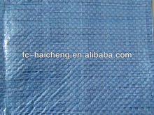 Blue PE woven fabric 60-160g/m2 plastic weed control mat